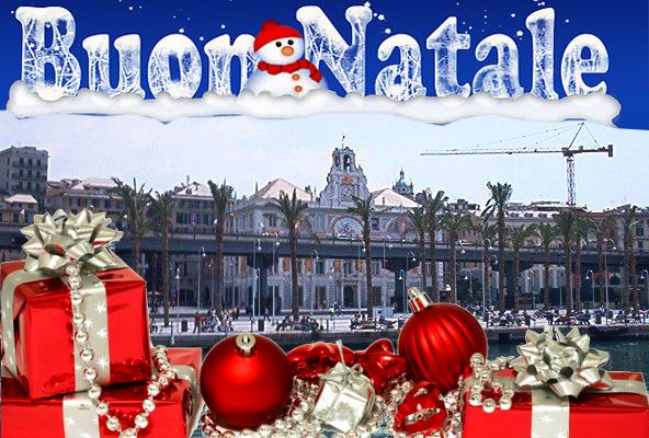 Palazzo San Giorgio Auguri Buon Natale