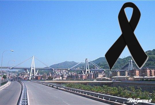 Ponte Morandi Lutto 14 agosto 2018