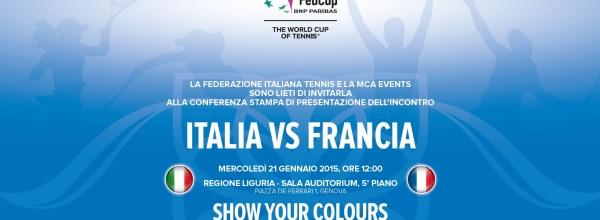FED CUP A GENOVA: ITALIA-FRANCIA, IL DERBY E' SERVITO