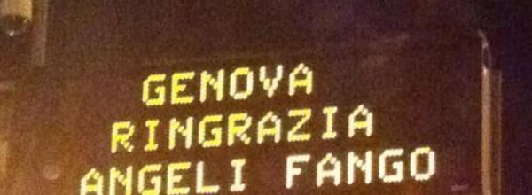 Via Angeli del fango – Genova dedica una via ai volontari dell'alluvione
