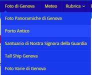Menu Fotografie di Genova - ReteGenova