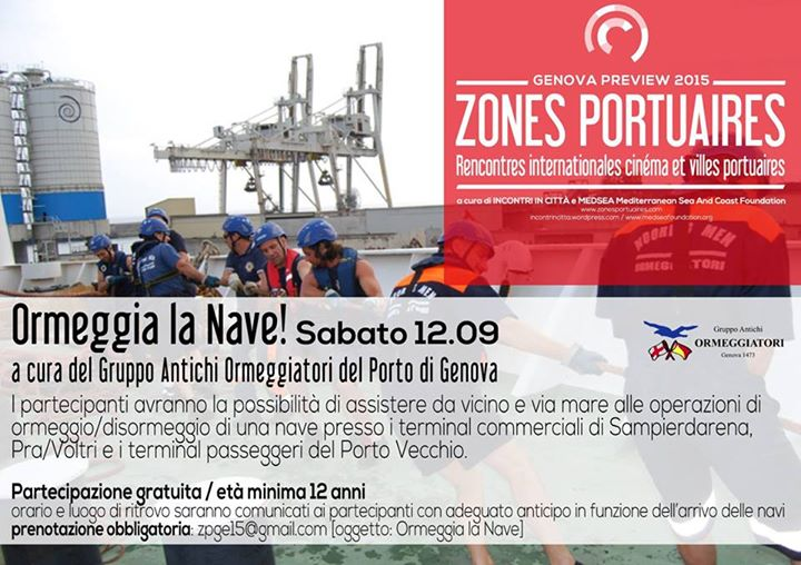 Ormeggia la Nave - Zones Portuaires