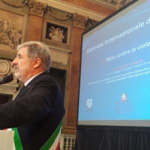 il sindaco Marco Bucci interviene